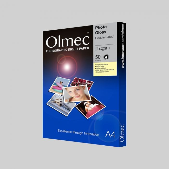 OLM65 Photo Glossy  Double side 250 gsm
