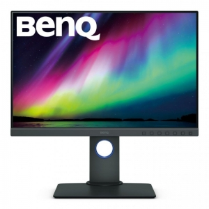 BENQ SW240 Pro Photo Editing Monitor 24 - Grey - Zero Pixel