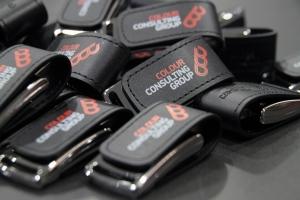 Δερμάτινο USB 2.0 με Χάραξη ή Εκτύπωση