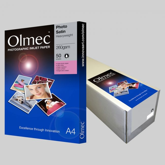 OLM61 Photo Satin Single side 260 gsm