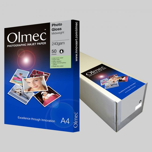 OLM63 Photo Glossy  Single side 240 gsm