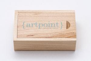 Ξύλινο Κουτί για USB